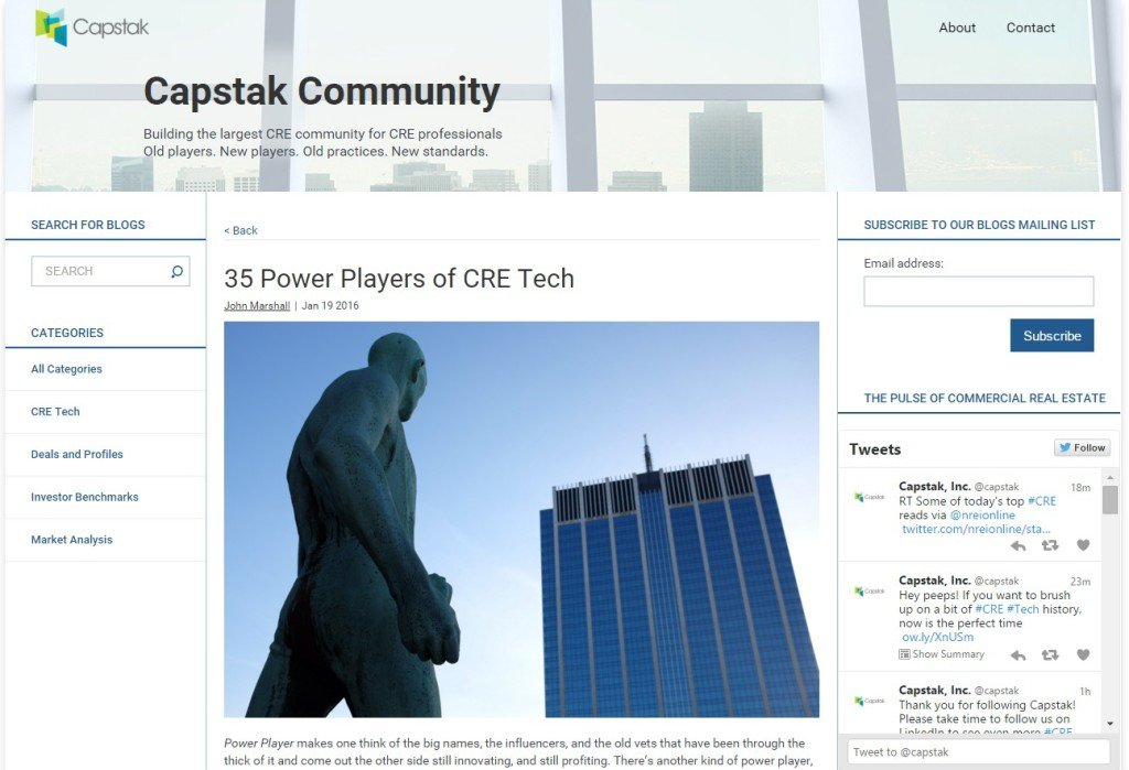 35 Power Players of CRE Tech
