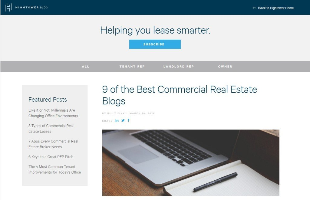 9 of the Best Commercial Real Estate Blogs