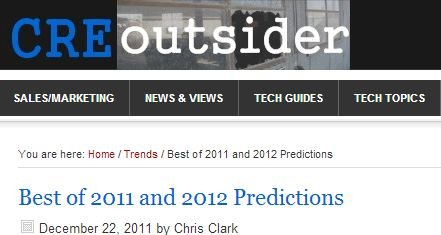 2011 and 2012 Predictions