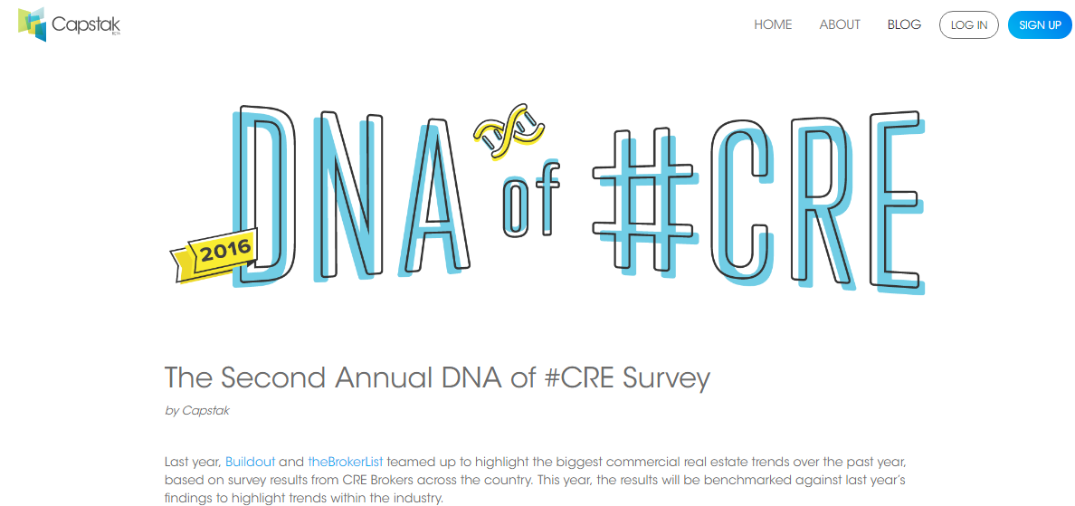 The Second Annual DNA of #CRE Survey