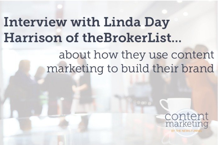 Content Marketing Interview with Linda Day Harrison of theBrokerList — Content