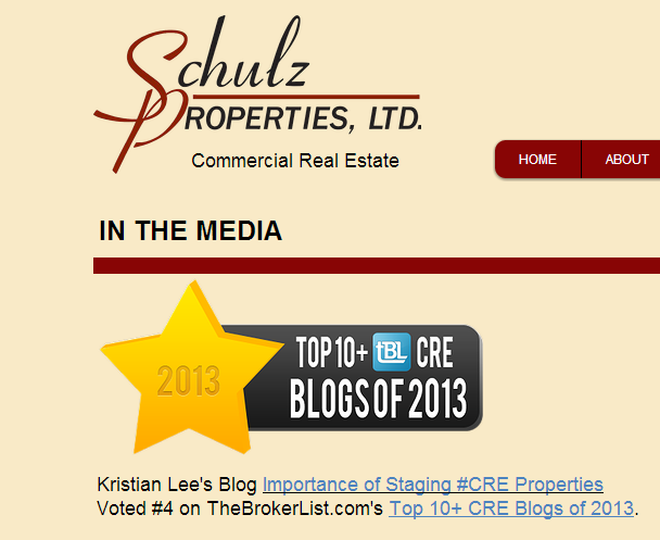 Thanks to Kristian for adding us to the Media page for Schulz. We are so grateful for this!