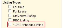 1031 Exchange Search on WANTS