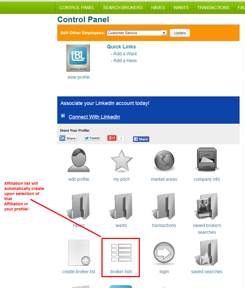 Membership Affiliation lists now aut-create to save time!