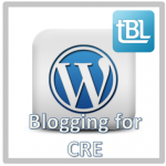 New Linkedin subgroup - Blogging for CRE! Join today!