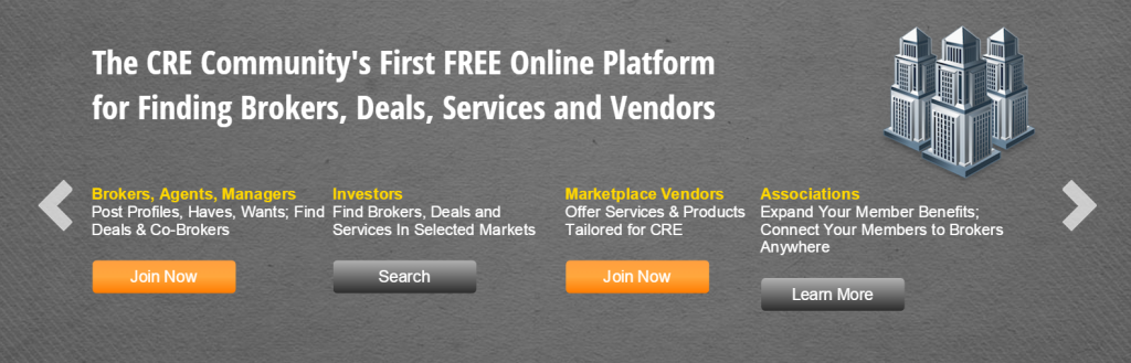 Commercial Real Estate Brokers   The First Online CRE Broker List for CRE Industry   theBrokerList.