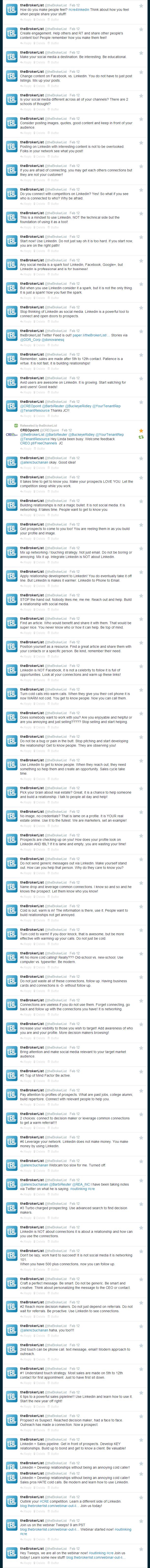 theBrokerList  theBrokerList  on Twitter