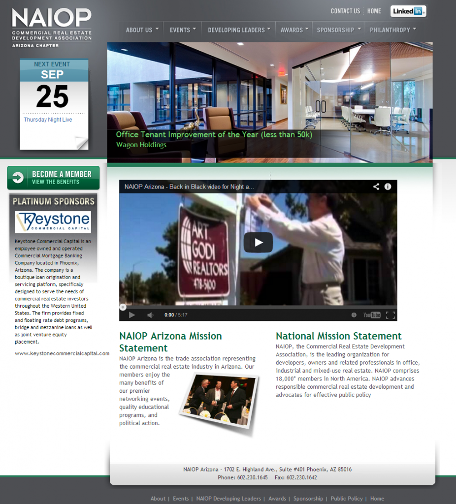 NAIOP Arizona Commercial Real Estate Industry Trade Association