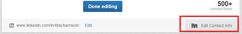 Linkedin_Edit_Contact_info