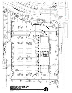 Marketplace at THE CITY Site Plan2015
