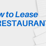 How to Lease a Restaurant