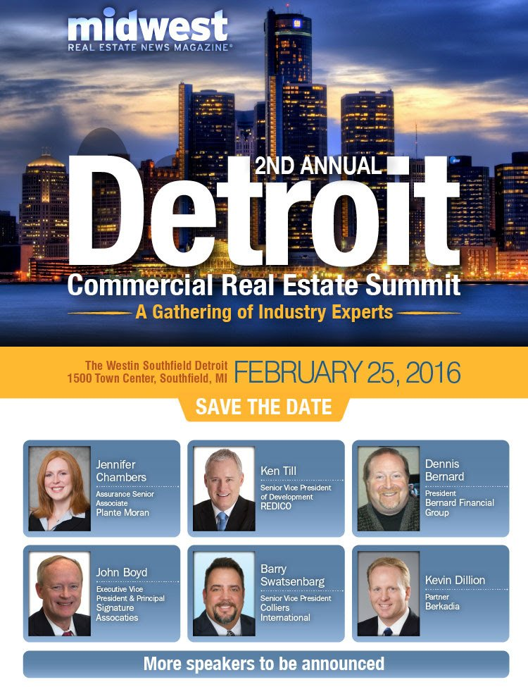 2nd annual detroit commercial real estate summit