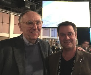 Jack Dangermond and Todd Kuhlmann, Esri Partner Conference, March 2016
