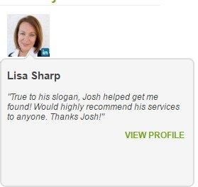 Joshua Lyons Marketing Satisfied Customer Lisa Sharp
