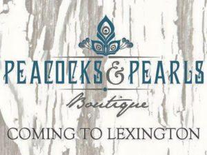 Peacocks & Pearls Logo