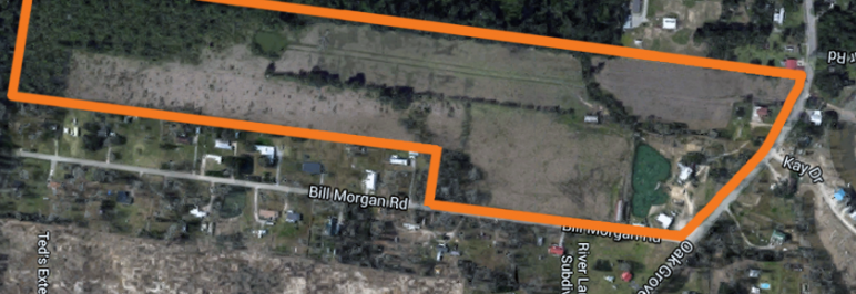vacant land site