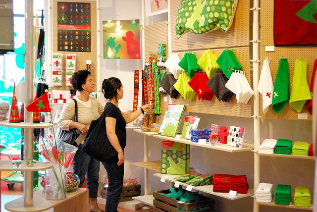 Ampelmann Pop-Up Shop (Source:Lisa Ampelfrau, Flickr)