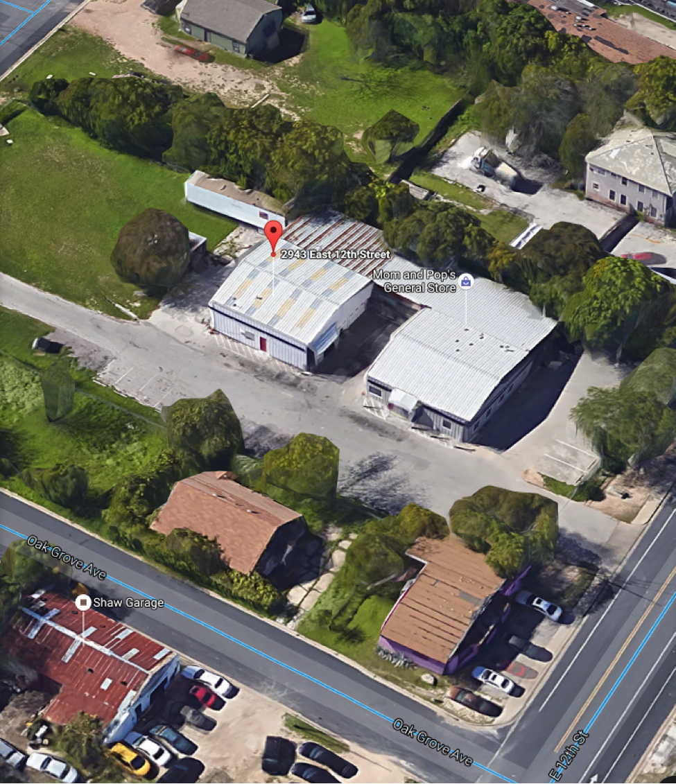 Google Aerial View Warehouse