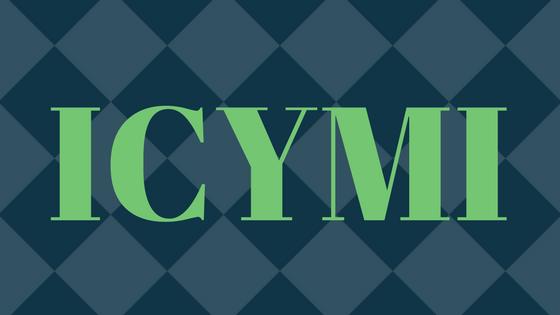 ICYMI May