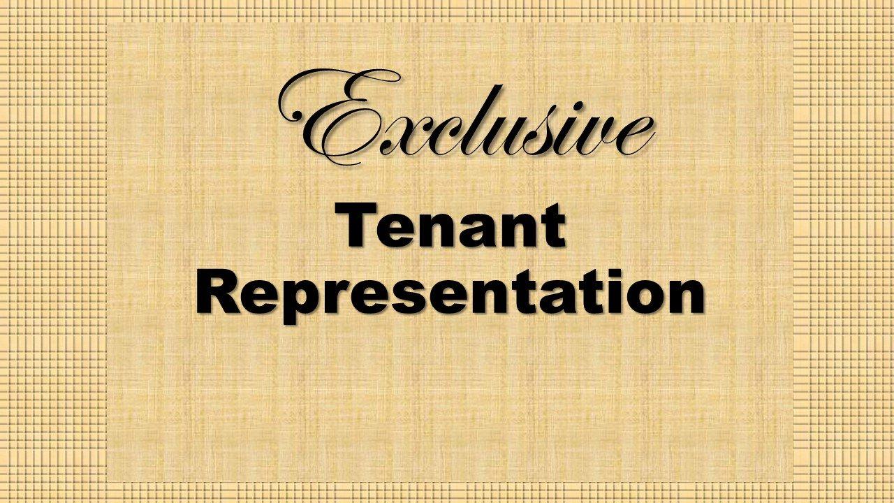 Exclusive Tenant Representation