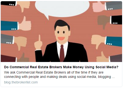 #CRE Success Stories: Commercial Real Estate Brokers DO Make Deals Using Social Media
