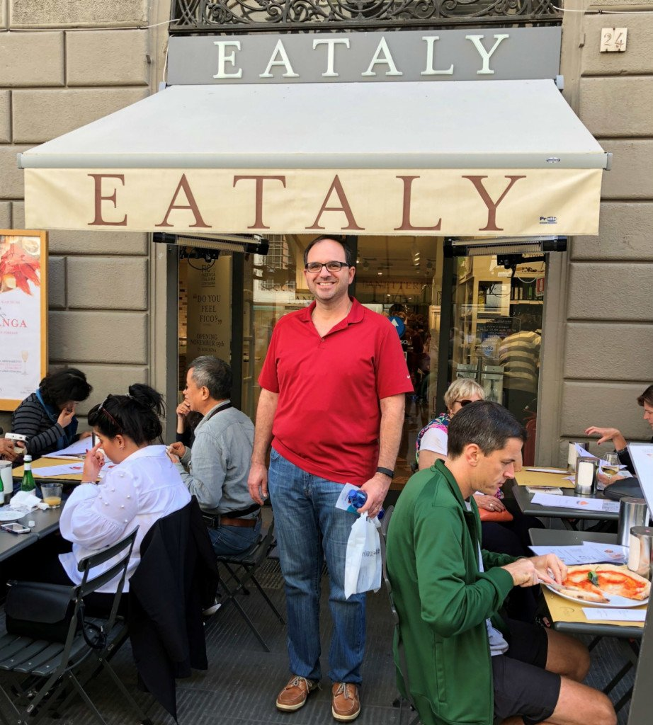 Brad at Eataly RS