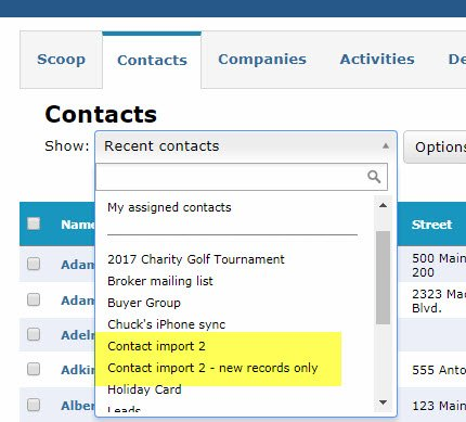How To Import Contacts Into ClientLook CRM