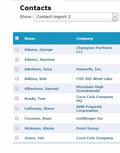 How To Import Contacts Into ClientLook CRM_2