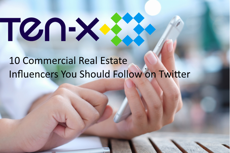 10 Commercial Real Estate Influencers You Should Follow on Twitter