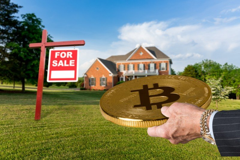 cryptocurrency purchase of real estate
