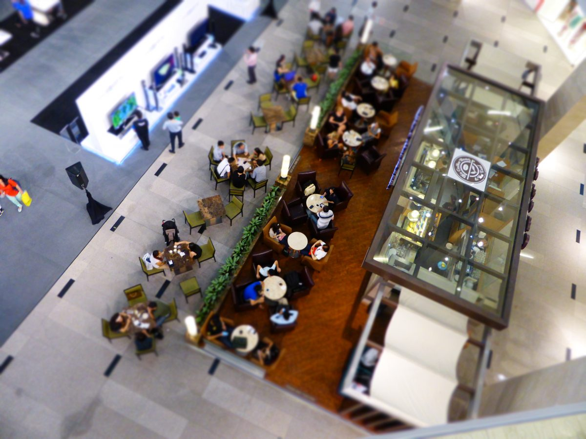 Co-shared space is a business model, less real estate too