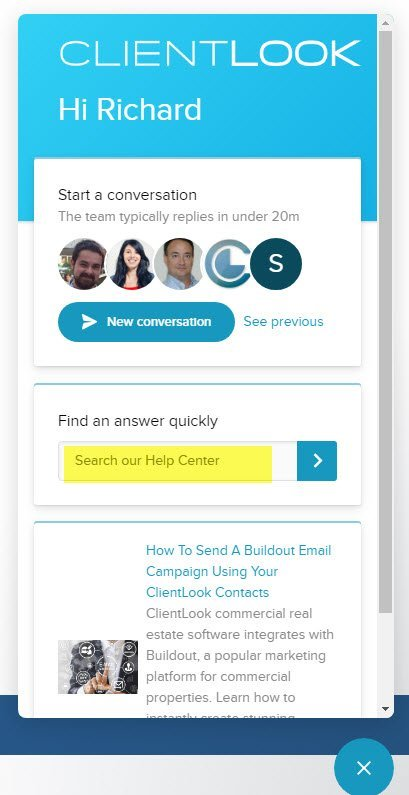 ClientLook CRM_Help Center 2