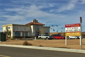 Progressive Real Estate Partners Arranges Sale of Commercial Land in Hesperia, CA