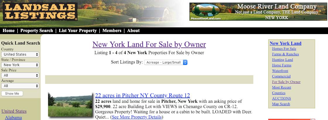 landforsalelistings.com