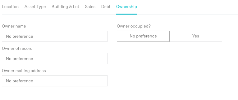 Reonomy Property Value Search by Owner