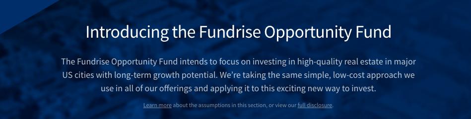 Fundrise Florida Opportunity Zone Fund