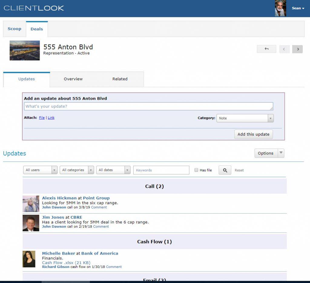 ClientLook CRM Client Collaboration Portal_1