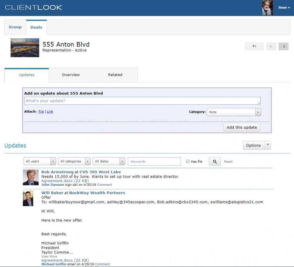 ClientLook CRM Client Collaboration Portal_2