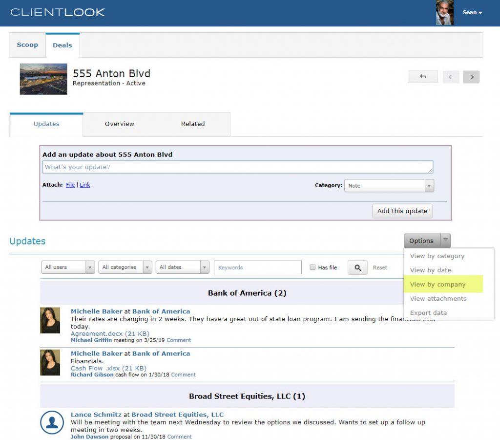 ClientLook CRM Client Collaboration Portal_3