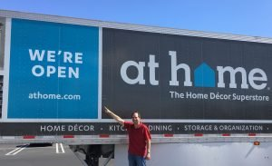 At Home Opens 1st CA Store
