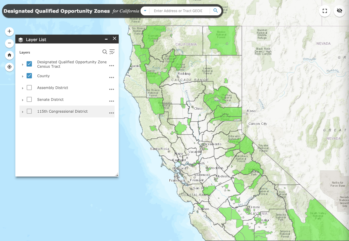 California-Opportunity-Zone-Mapping-Tool