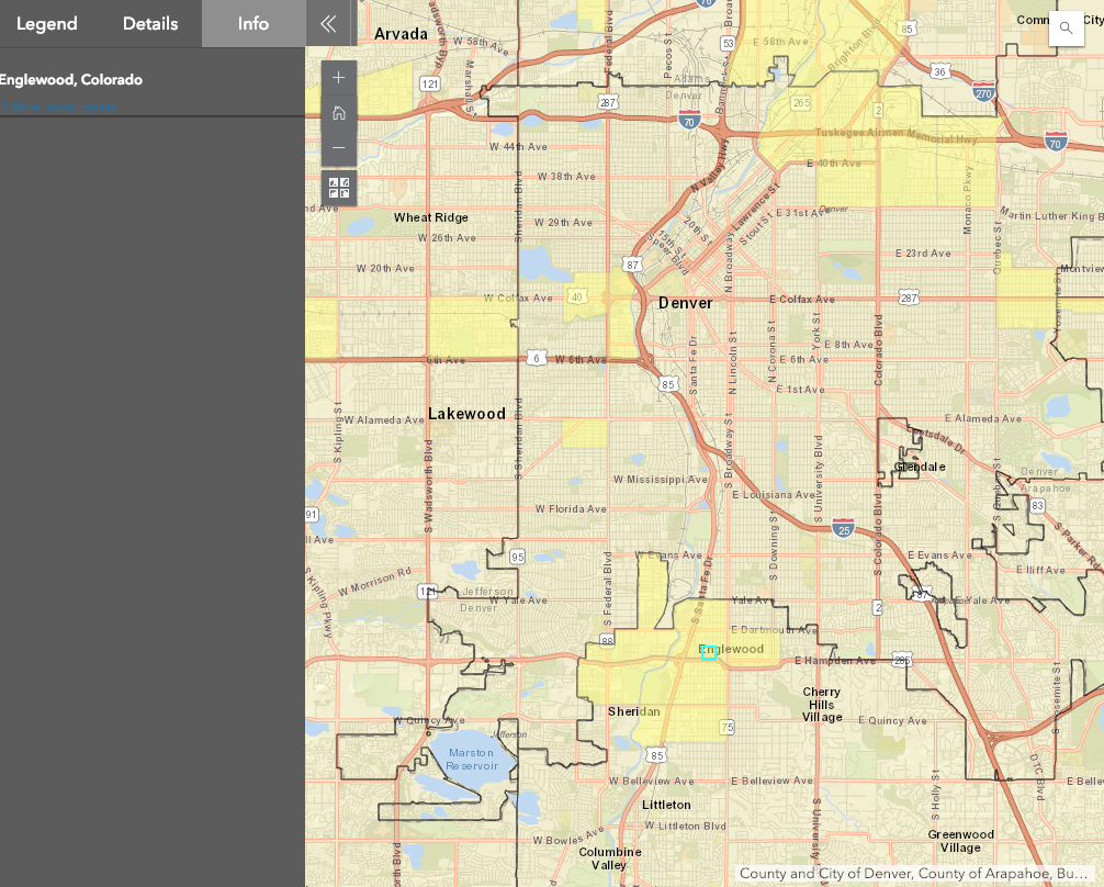 OEDIT Colorado Opportunity Zone Map