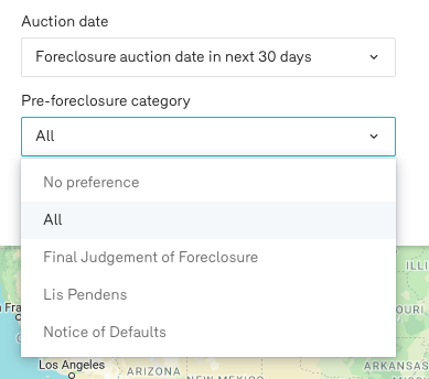 Reonomy Pre Foreclosure Property Search