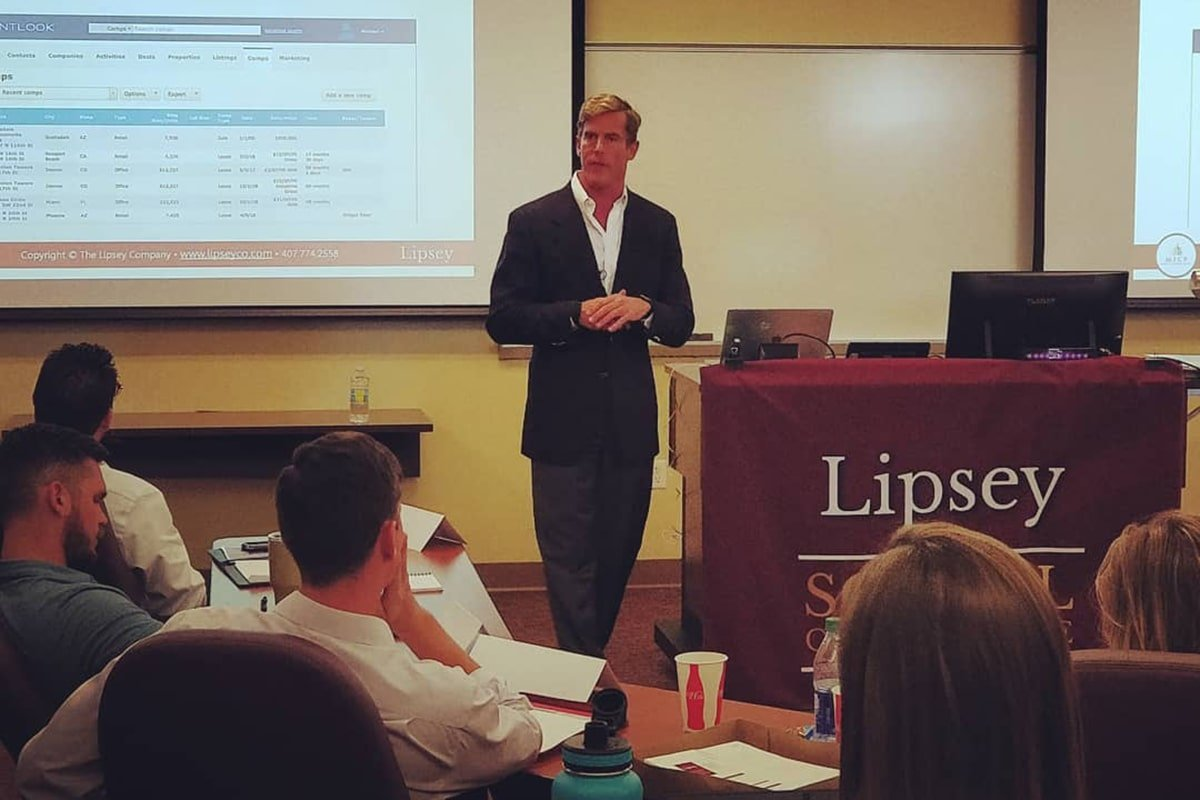 Michael Griffin_Lipsey School of Real Estate 2019