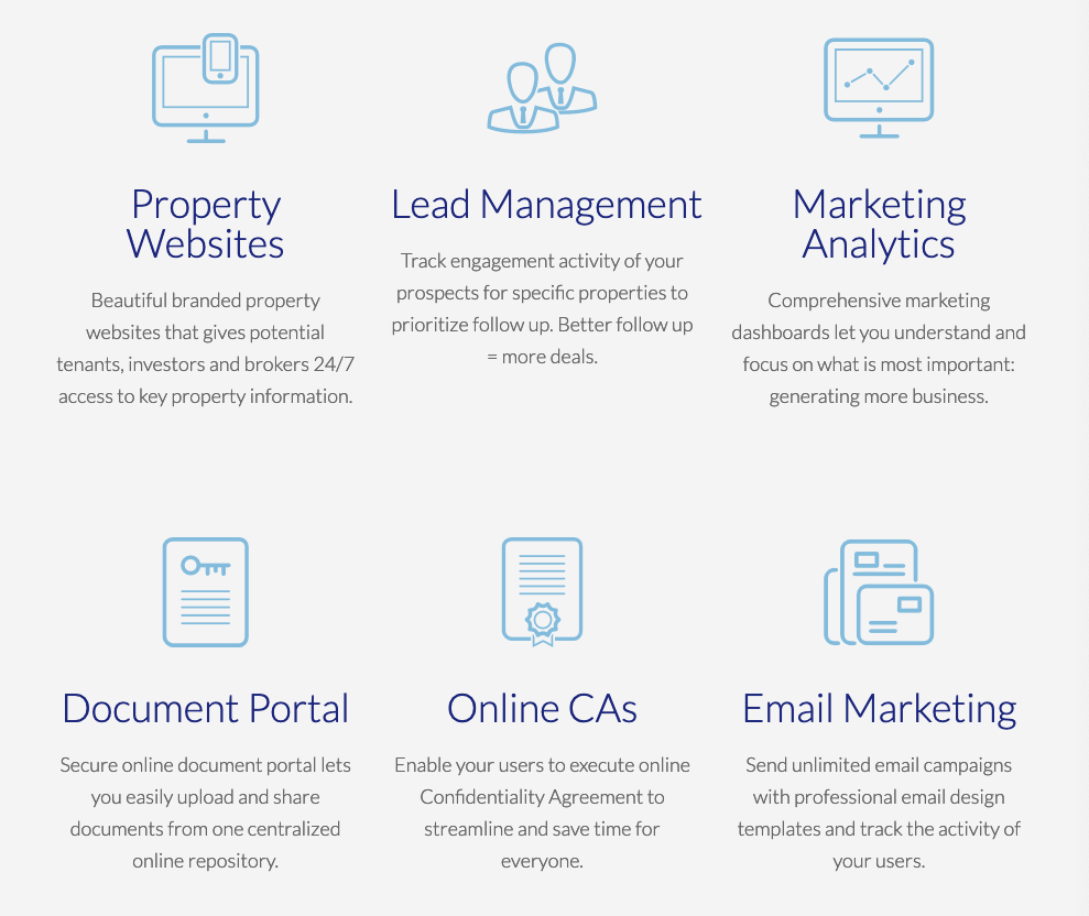 SharpLaunch Commercial Real Estate Marketing Software