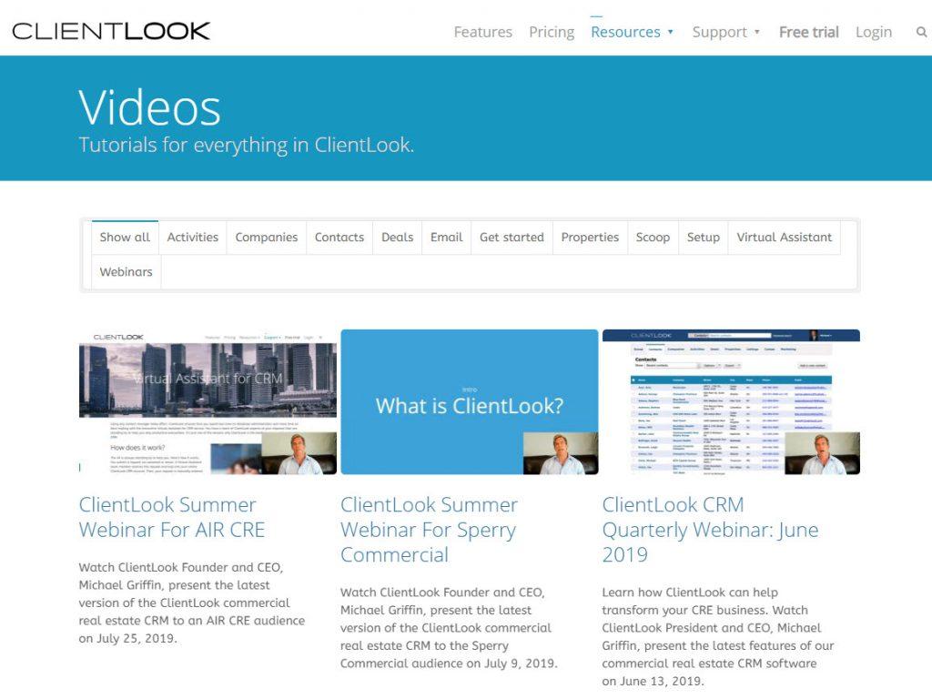 ClientLook CRM Self-Help Resources_1