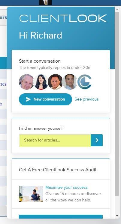 ClientLook CRM Self-Help Resources_4
