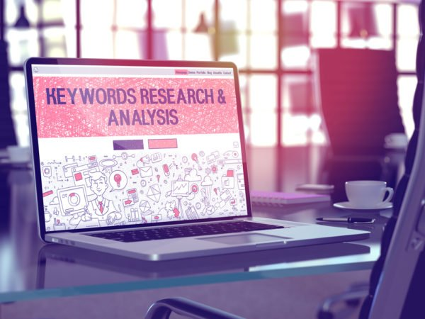 Get blog content ideas through a keyword research tool