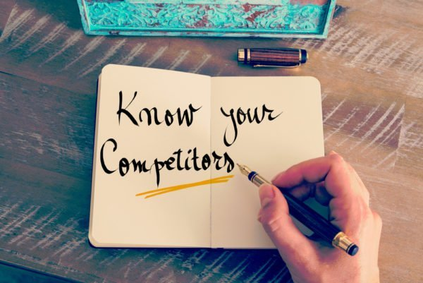 Look at your competitors to find blog topic ideas