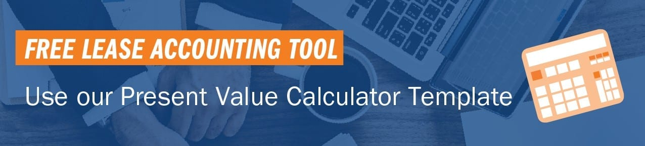 Free present value calculator Excel template